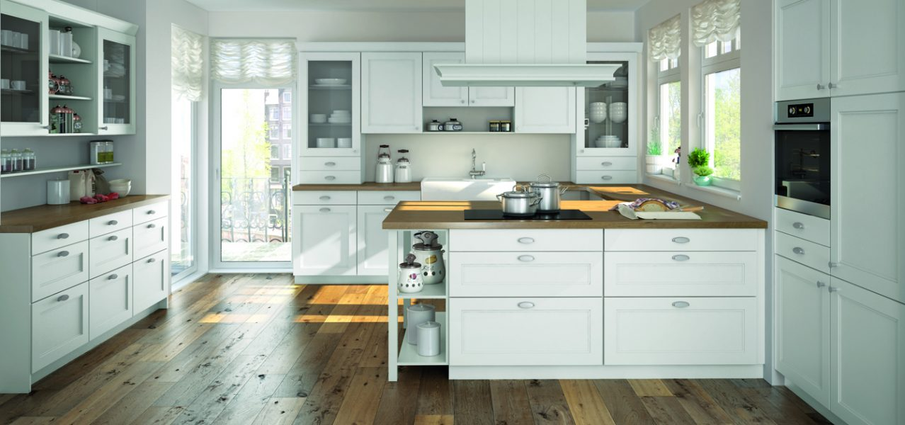 Beckermann Alaska kitchen cabinet