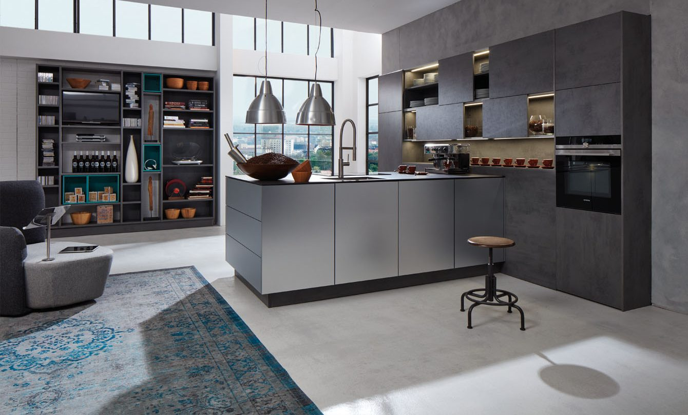 beckermann concrete kitchen