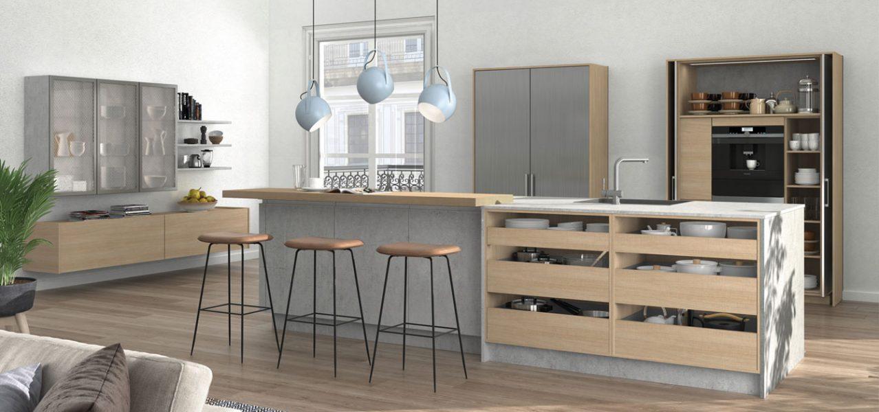 steel german kitchen