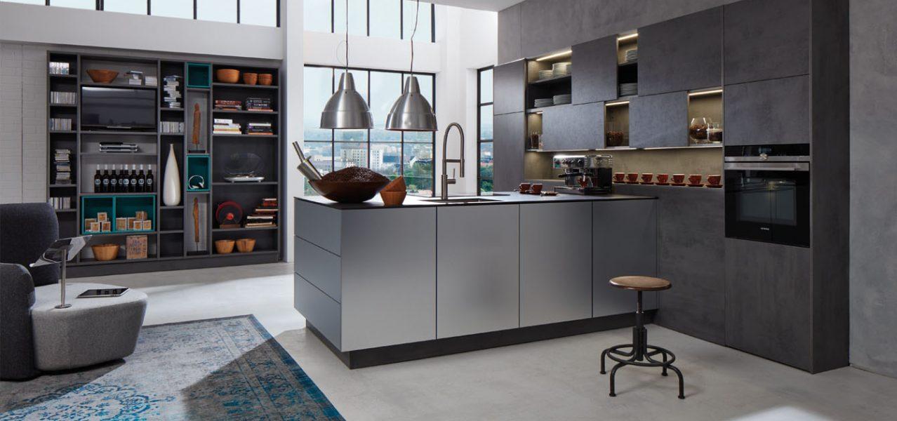 Beckerman metalic kitchen