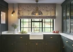 British traditional kitchen