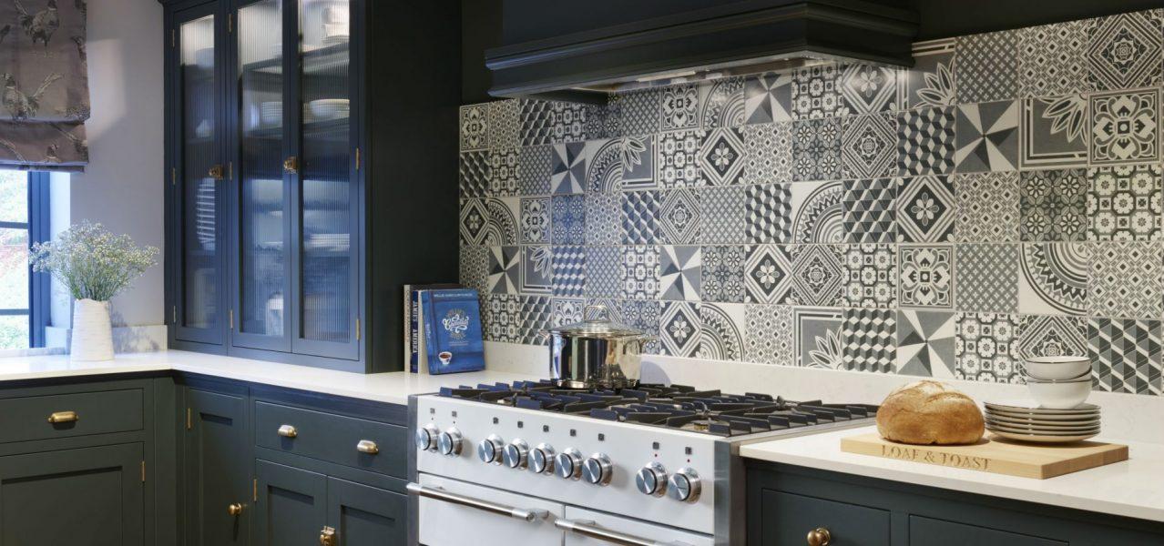 British traditional kitchen