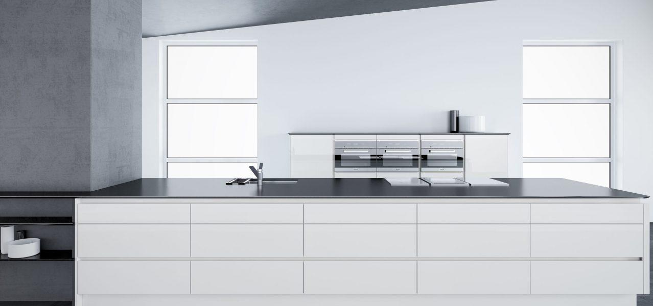 cheap gloss white kitchen