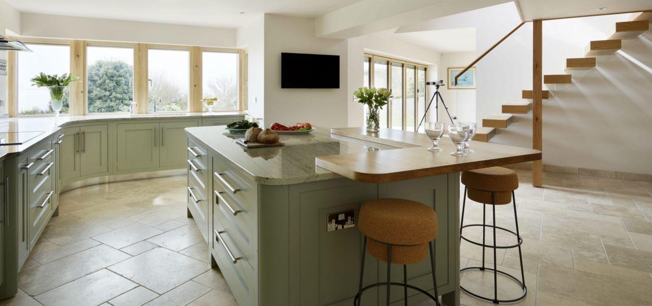 traditional british kitchen