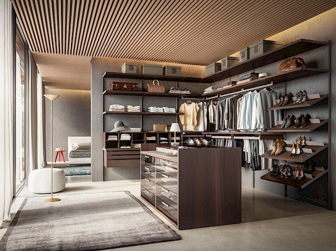 Luxury walk in closets