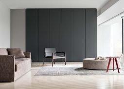 bespoke lacquered wardrobe