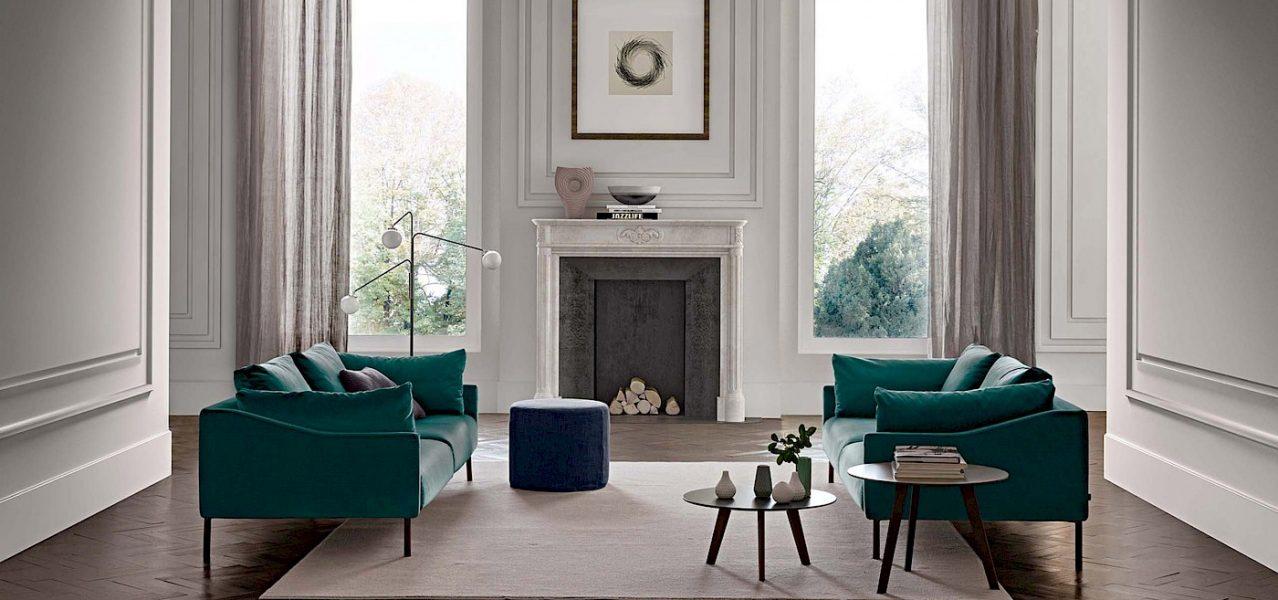 Openplan Design, sofas, living room, Jesse